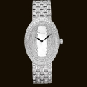 Long Oval Dial2 Diamond Bracelet