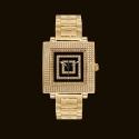 Quadrato Gold Dial1 Bracelet