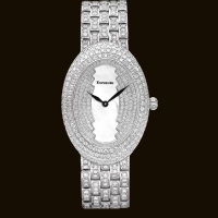 Long Oval Dial2 Diamond Bracelet