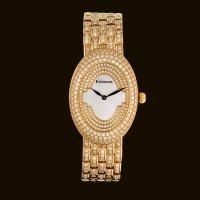Long Oval Dial1 Diamond Bracelet